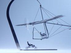 画像1: 人力飛行機 コンドル77 (1)