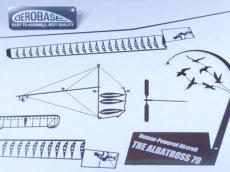 画像7: 人力飛行機 アルバトロス79 (7)