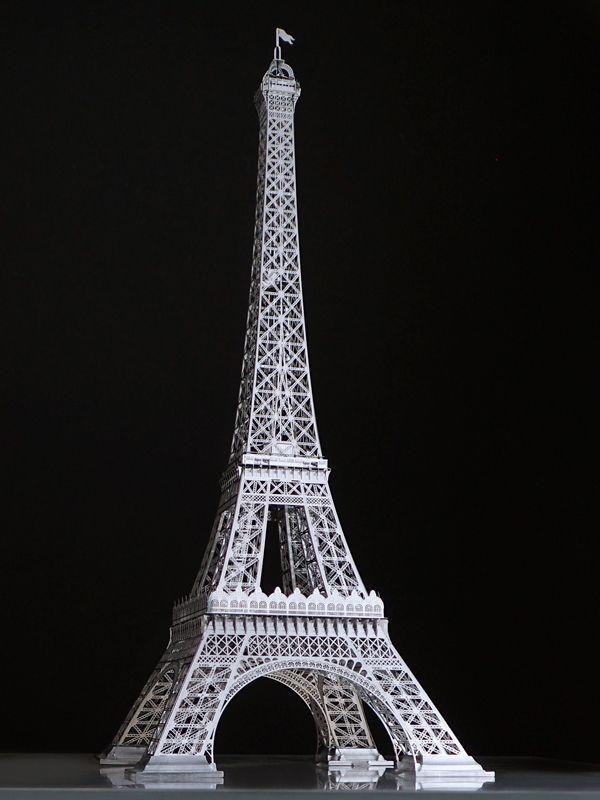 画像1: 30cmのエッフェル塔(1/1000スケール) (1)