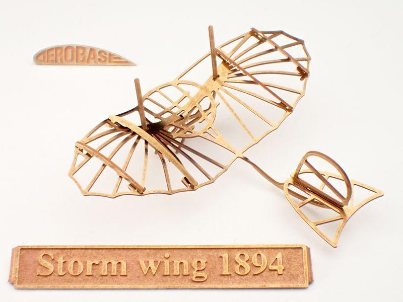 画像1: リリエンタールの強風型グライダー1894年式 (1)