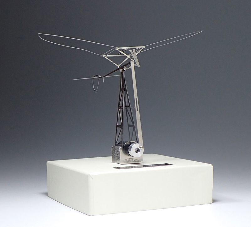 羽ばたき飛行機(動力付き)組立キット / エアロベース
