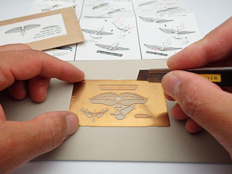 リリエンタールのデルヴィッツ型グライダー  組立キット / エアロベース