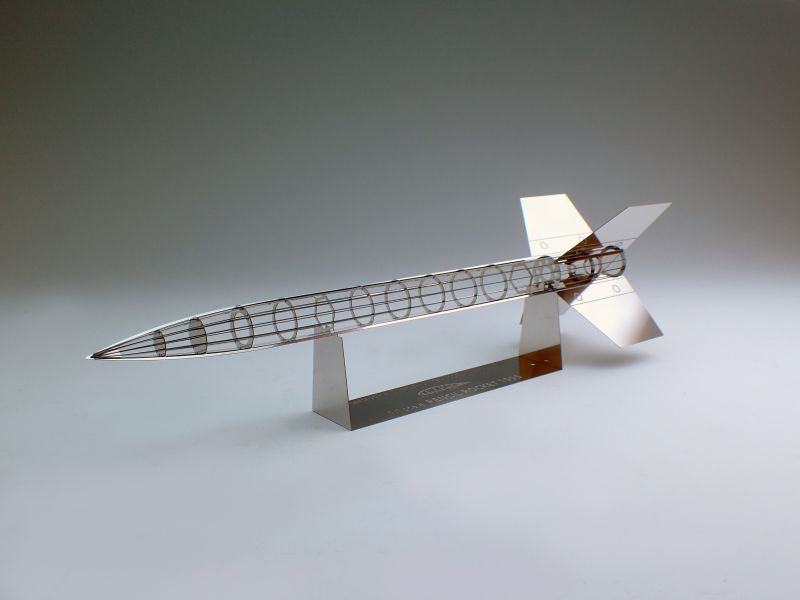 画像1: 実物大 ペンシルロケット (限定品) (1)