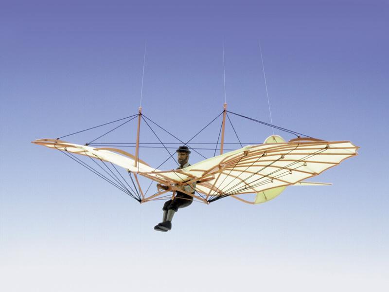 画像1: 1/48 リリエンタール標準機1894年式 (1)