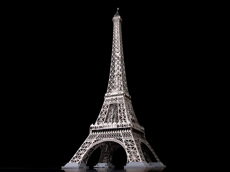 60cmのエッフェル塔(本物の1/500)/ エアロベース