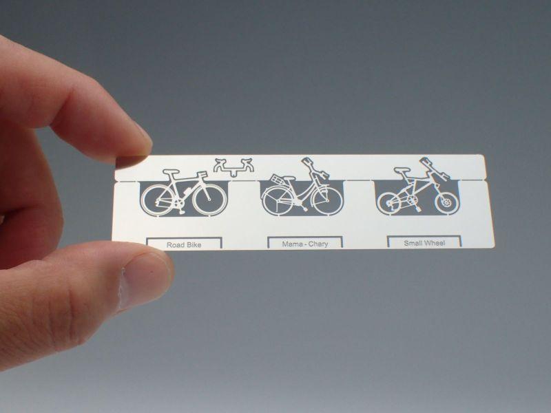 HOゲージ 現代の自転車セット(3台入)/ エアロベース